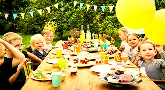 kids birthday party catering