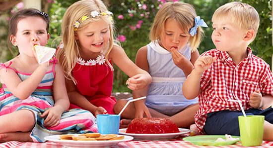kids party caterninja food india