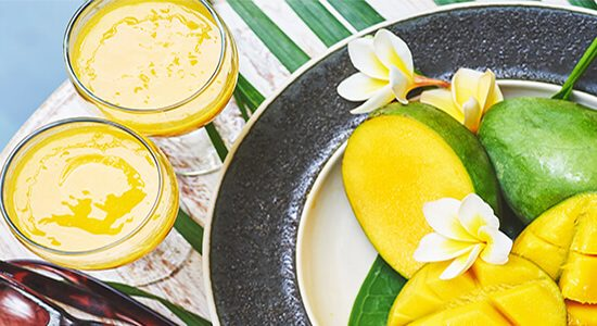 raw mango cooler drink