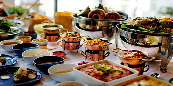 food gourmet buffet