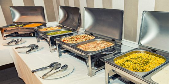 catering food for party