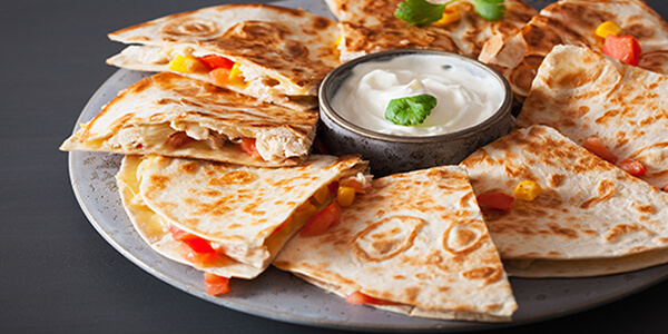 stuffed paratha for party menu