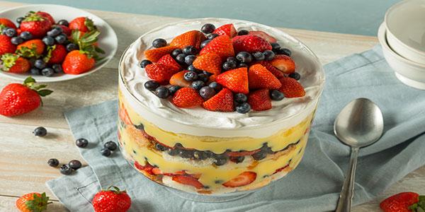 sweet-fruit custard-dessert-CaterNinja