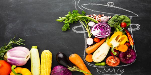 vegetarian food catering