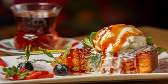 fusion dessert winter catering